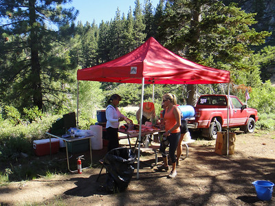 Red House Loop aid station.