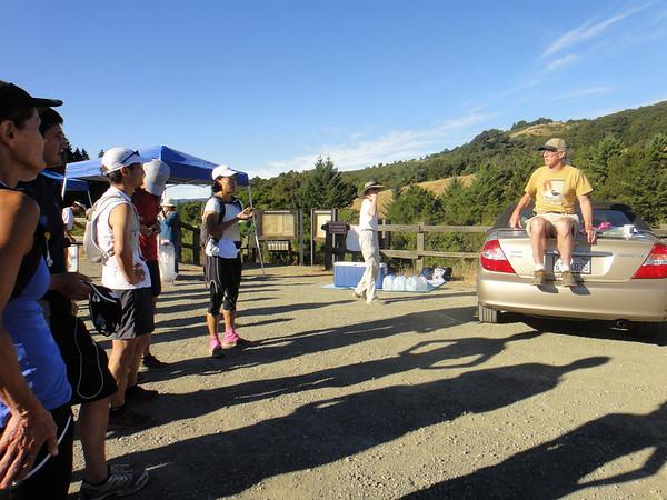 Stevens Creek 50K, 2012-09-08